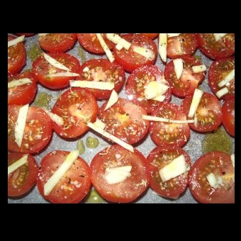 Not Mine - tomato salad