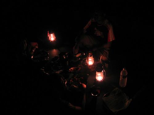 The lantern light supper