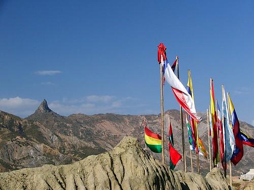 Entrada do Valle de La Luna - La Paz - Bolivia
