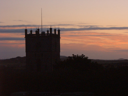 Sunset over St David's Cathedral