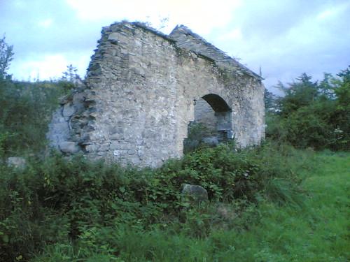 Ruins at Jampa Ling