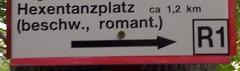 Hexentanzplatz beschw romant