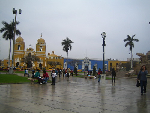 Central Plaza of Trujillo, Peru