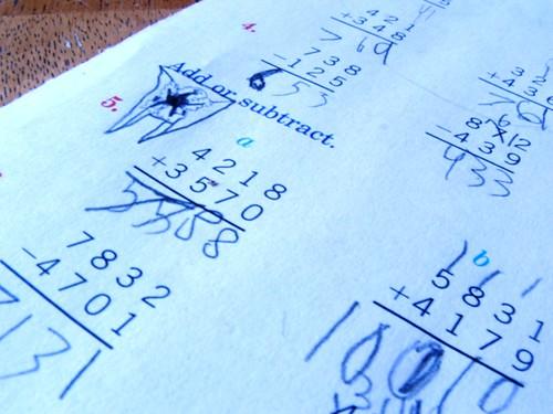 HS blue math