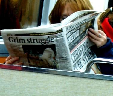 Christmas Tube Strike? Grim Struggle