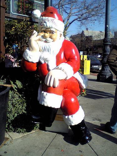 Santa's Chllin'