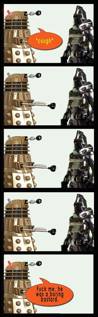 Dalek and Cylon 3-5 party