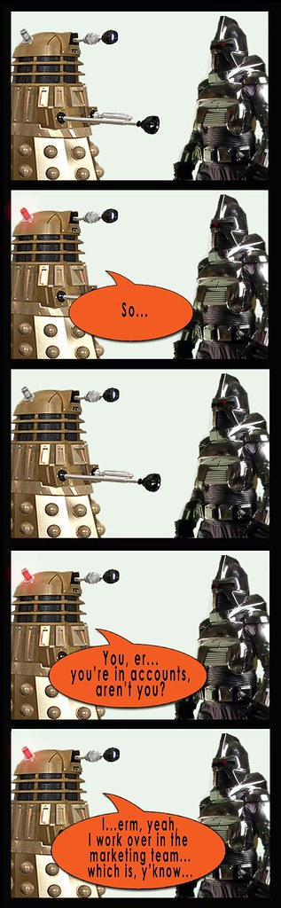 Dalek and Cylon party 1