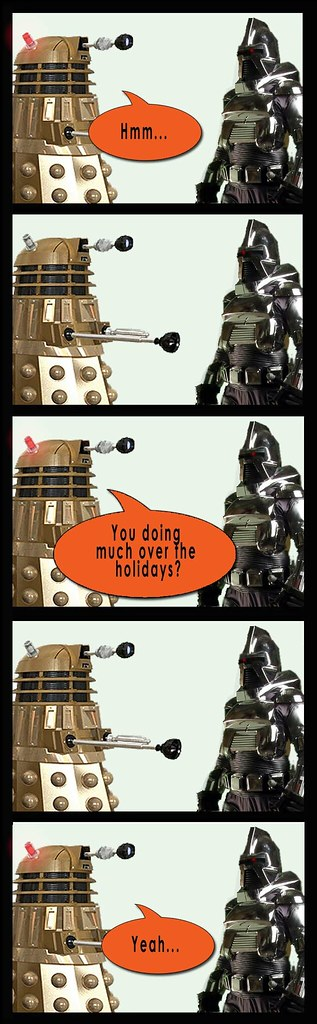 Dalek and Cylon party 3