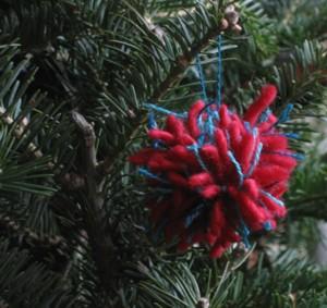 christmas pompon