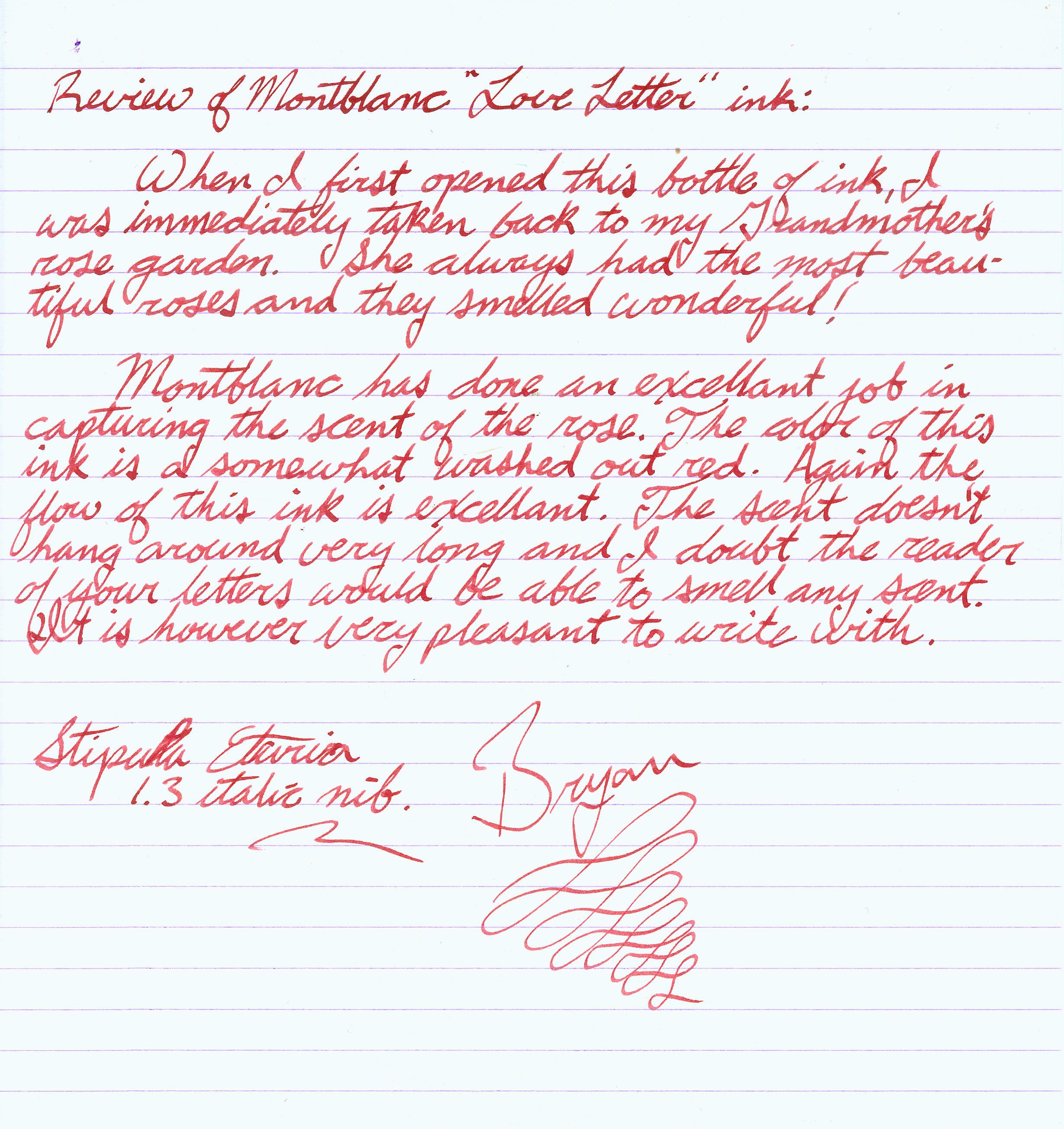 Minchew blog love letter sample – Samples of Love Letters to Boyfriend