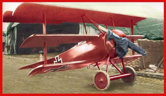 El Fokker Dr. 1 del Barón Rojo!!