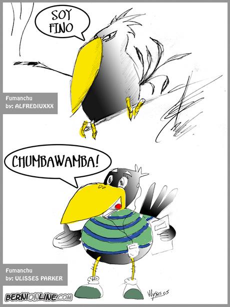 Fumanchu by: ALFREDIUXXX & ULISSES PARKER