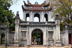 Temple of Literature Entrance