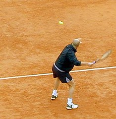 Andre Agassi, French Open 2001