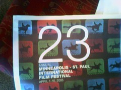 23 Film Festival Flyer
