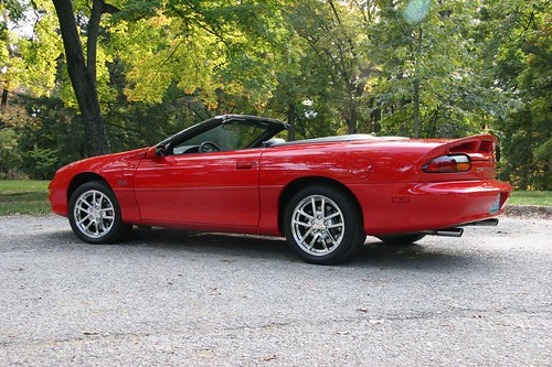 2001 camaro ss convertible