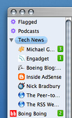 Site Icons in NewsFire 1.3