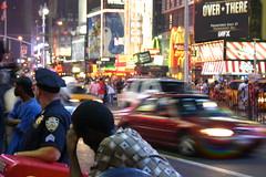 la frenesia di Times Square