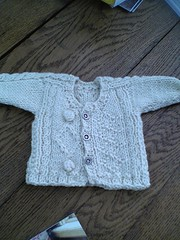 Alisa's FINISHED sampler cardigan