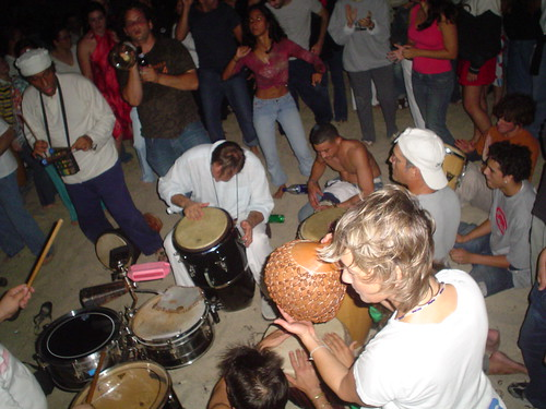 miami beach full moon drum circle