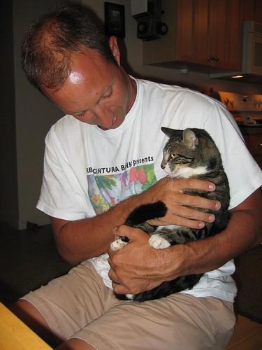 ed torturing poor kitten