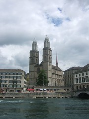 Grossmünster main front