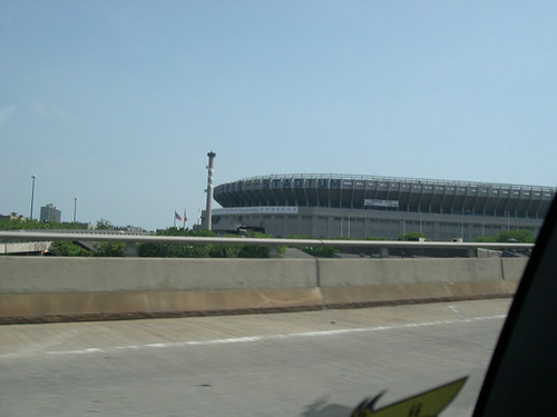 yankee stadium, from space