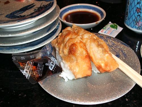 Gyoza Sushi!