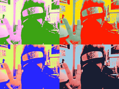 pop art kakashi