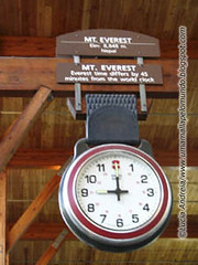 Que horas são no Everest?