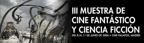 III Muestra de Cine Fantástico y Ciencia Ficción