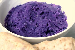 fresh  ube (aka purple yam)