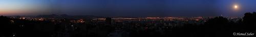 Tehran Dawn Panorama