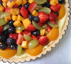 fruit tart vanilla pastry cream
