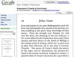 Google Julius Caesar