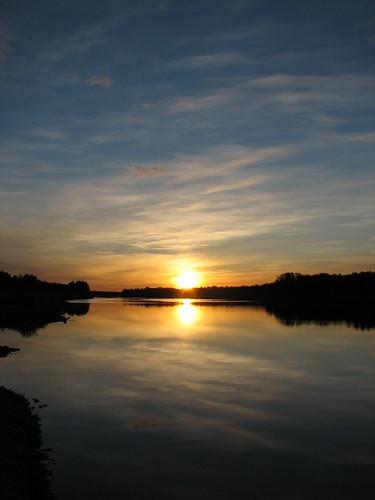 Midnight Sun, Sodankyl�, Finland