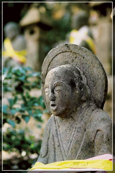 Статуи храма Тёкэйдзи