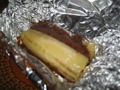 Angelique's Bananen Chocolade BBQ Bom