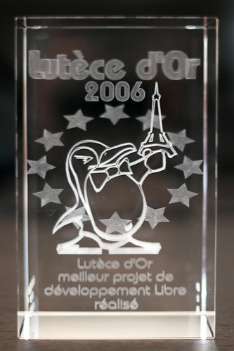 Best Development Project trophy awarded to Mozilla
