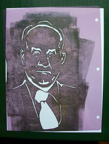 Stencil of The Kirk