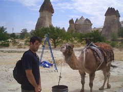 Fairy Chimneys (and a Camel)