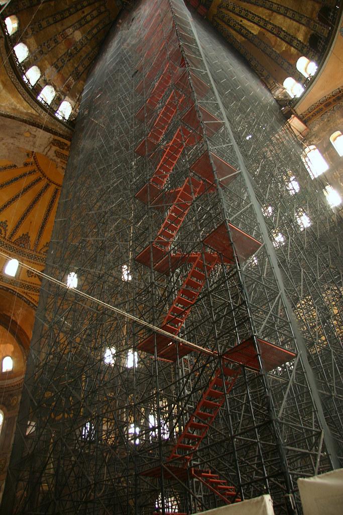 scaffolding in aya sofia
