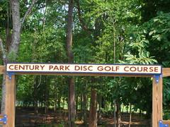 Century Park Disc Golf Course