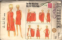 Full wrap dress pattern