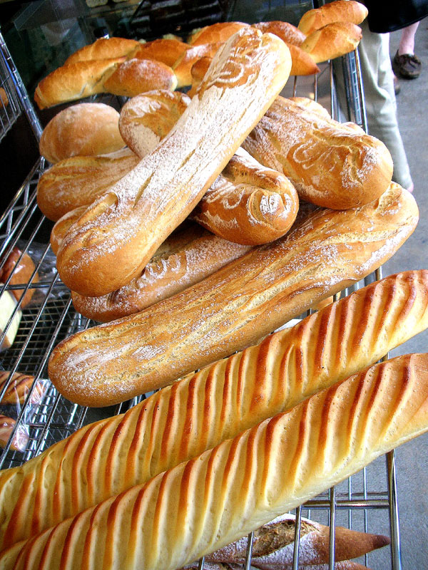 la maison du pain baguettes