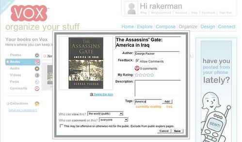 [Vox - Organize - Tagging - Assassin's Gate]