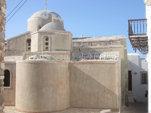 Tatooine... I mean, church in Hora, Naxos