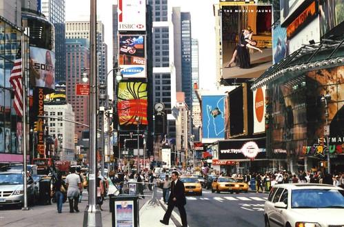 Il Moulin Jaune a Times Square