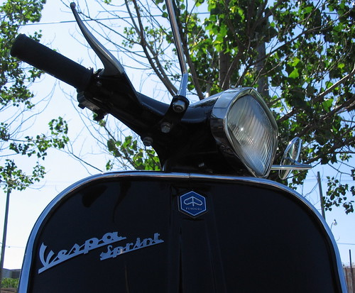 Vespa Sprint, Black
